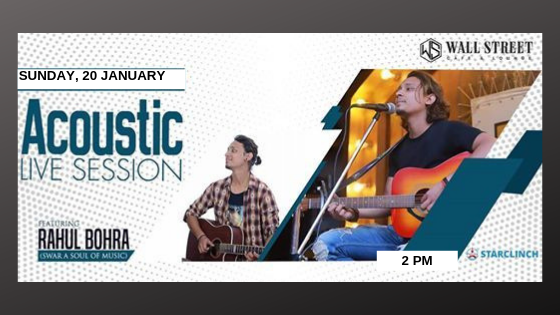 Rahul Bohra - Performing LIVE at Wall Street Cafe and Lounge