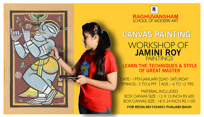 Jamini Roy Painting Workshop