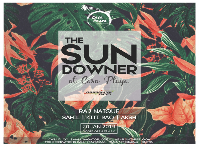 The Sundowner at Casa Playa 20th January 2019