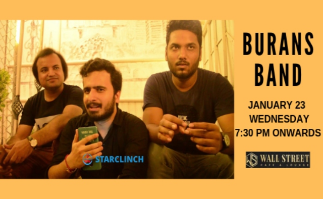 BURANS - Performing LIVE at 'Cafe Public Connection' Connaught Place