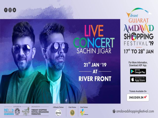 Sachin-Jigar live in concert Ahmedabad 2019
