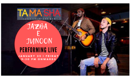 Jazba e Junoon- Performing LIVE at 'TAMASHA' Connaught Place