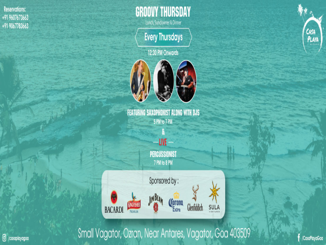 Groovy Thursdays 24th January 2018