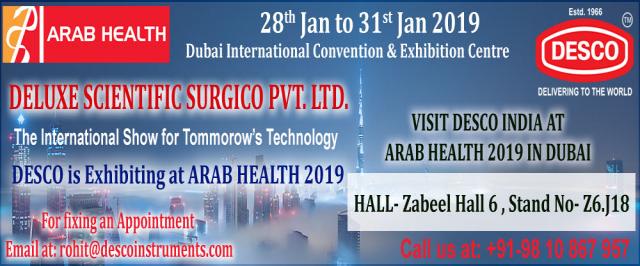 Arab Health 2019