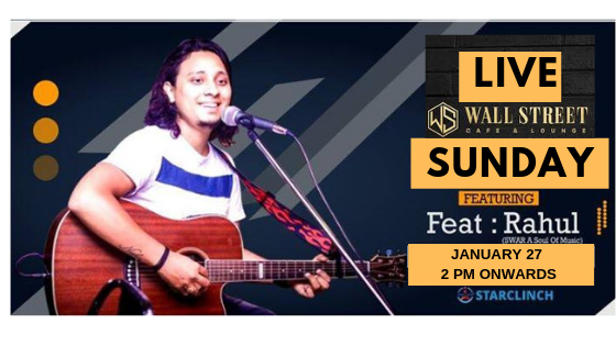 Rahul Bohra - Performing at Wall Street Cafe and Lounge