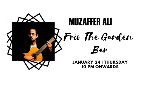 Muzaffer - Performing at 'Frio The garden bar' Delhi