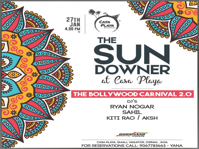 The Sundowner at Casa Playa 27th January 2019