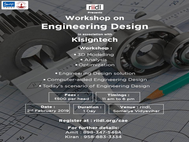 Workshop on Engineering Design