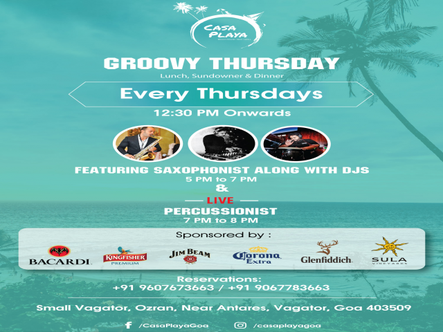 Groovy Thursdays 31st January 2019