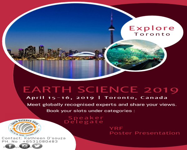 3rd International Conference on Earth Science and Climate Change