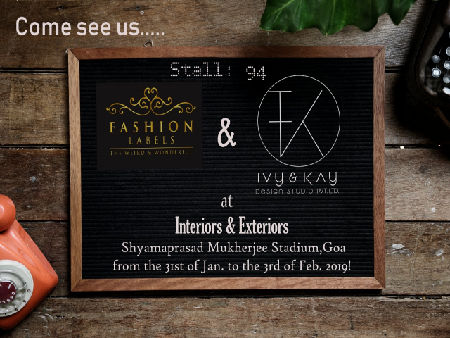 Interior & Exterior Expo Goa: Fashion Labels and Ivy & Kay