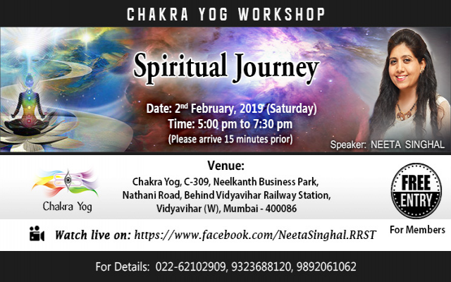 Spiritual Journey Workshop by Neeta Singhal