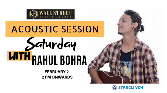 Rahul Bohra - Performing LIVE at Cafe Wall Street
