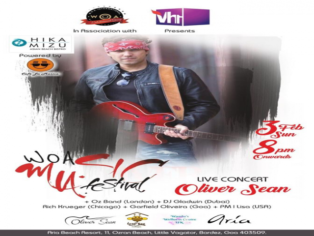 WOA Music Festival : Oliver Sean Live Concert