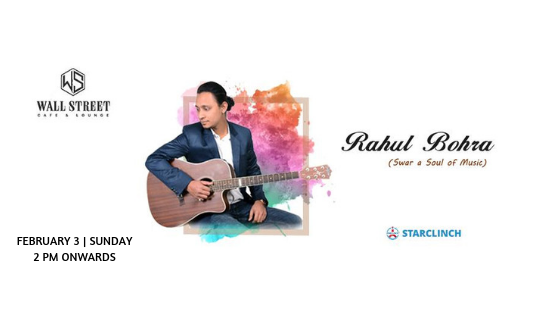 Rahul Bohra - Performing LIVE at Cafe Public Connection