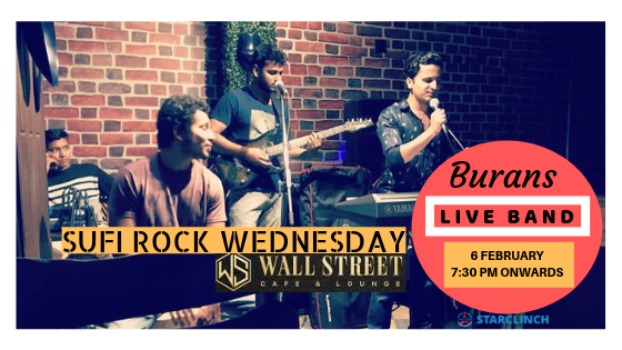 BURANS - Performing LIVE at 'Cafe Wall Street CP