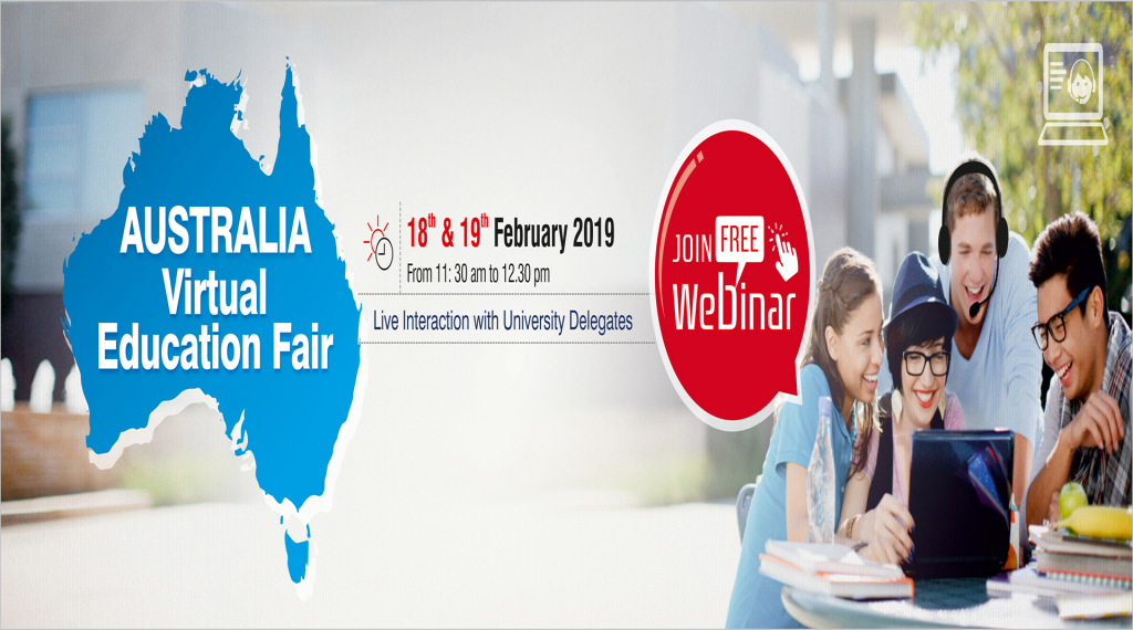 Australia Virtual Education Fair - Study Abroad Webinar 2019