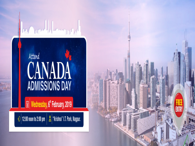Canada Admissions Day at Krishna Consultants Nagpur - 6th February,2019