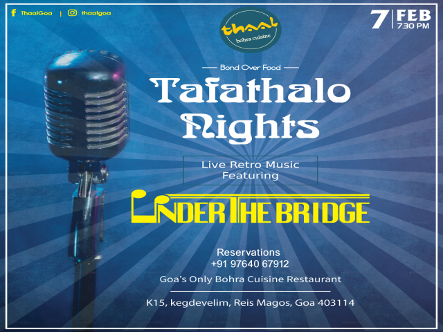 Tafathalo Nights 7th February 2019