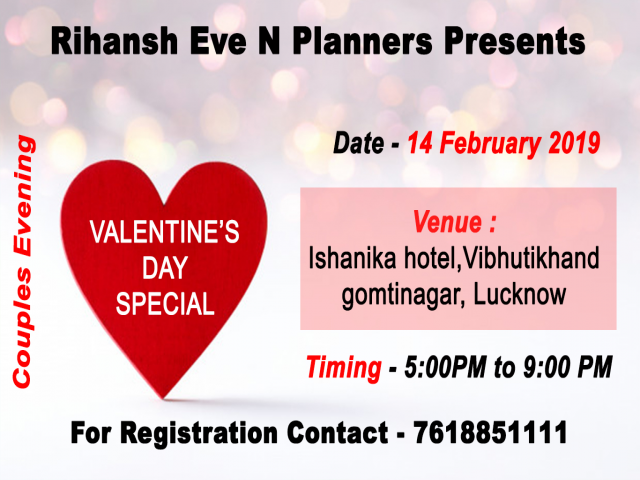 Valentine's Day Event in Lucknow