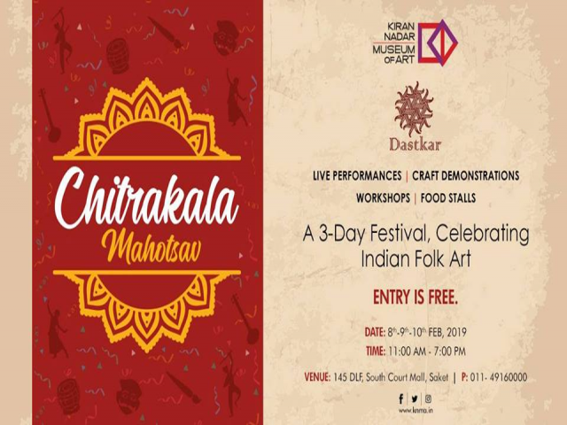 Chitrakala Mahotsav - Folk Art Painting Festival at KNMA Delhi