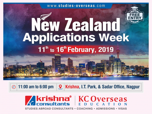 New Zealand Applications Week- 11th to 16th February 2019