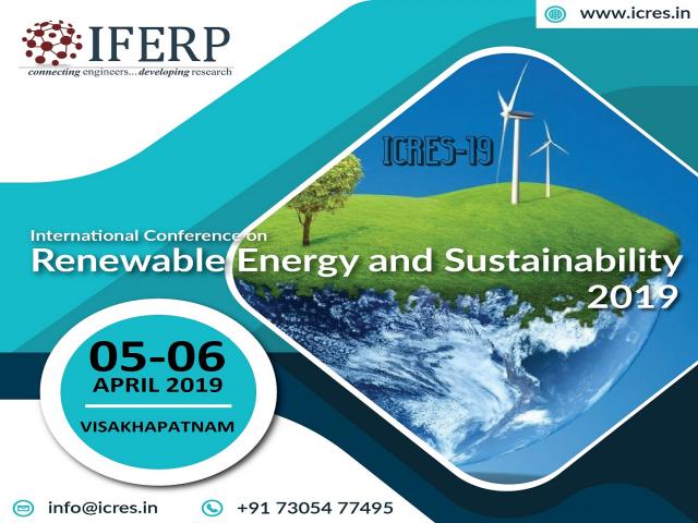 International Conference on Renewable Energy and Sustainability