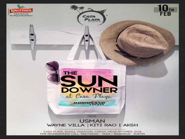 The Sundowner at Casa Playa 10th February 2019