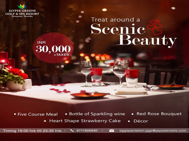 Most Luxurious Valentine's Day Hotel Packages - Jaypee Hotels