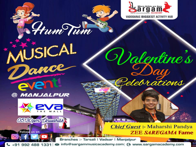 Musical Dance Event by SARGAM ACADEMY