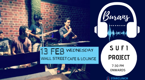 Burans - Performing Live at Wall Street Cafe Lounge