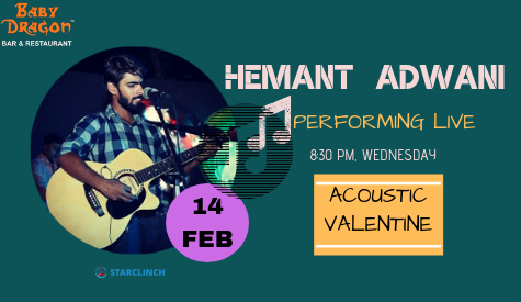 Hemant Adwani - Performing LIVE at Baby Dragon Bar & Restaurant, Noida