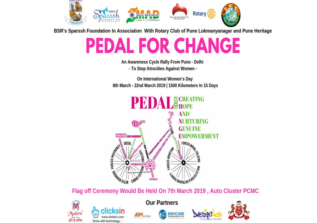 PEDAL FOR CHANGE