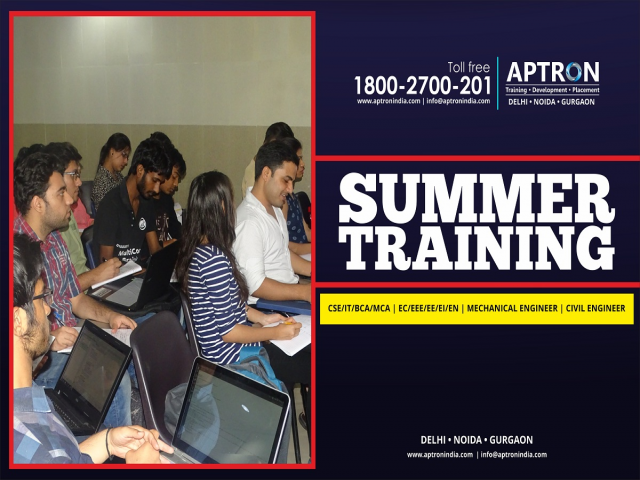 Summer Internship Training in Gurgaon