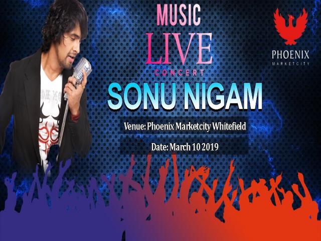 SONU NIGAM MUSIC LIVE SHOW