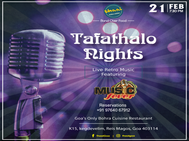 Tafathalo Nights 21st February 2019