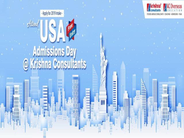 USA Admissions Day at Krishna Consultants New Delhi - 25th Feb 2019
