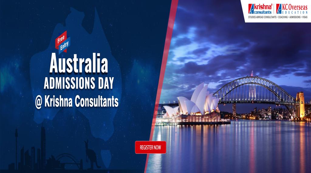 Australia Admissions Day at Krishna Consultants New Delhi - 5th March 2019