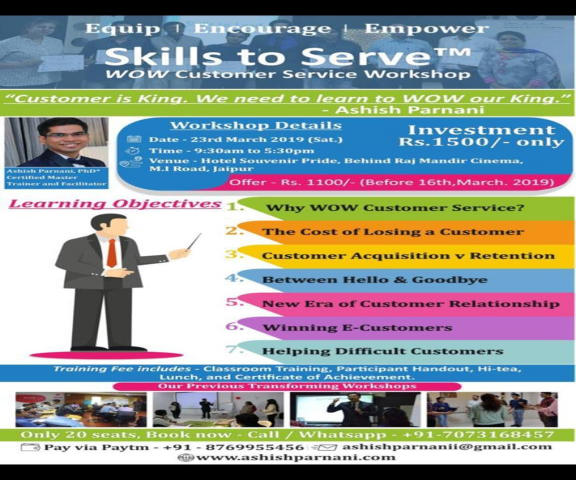 Skills to Serve - WOW Customer Service Workshop