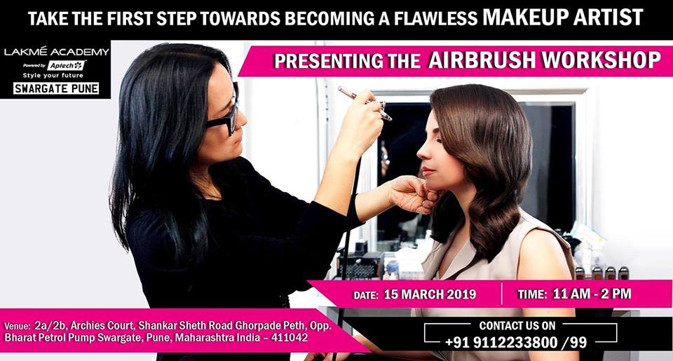 Attend A Free Airbrush Makeup Workshop