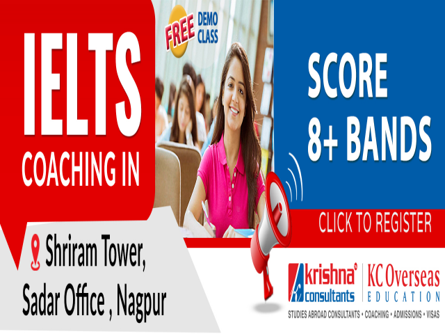 IELTS Coaching in Nagpur - Krishna Consultants Sadar Nagpur