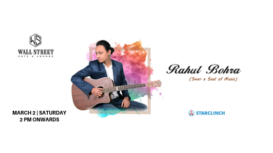 Rahul Bohra - Performing LIVE at Wall Street Cafe and Lounge, C.P