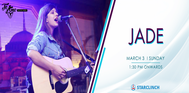 JADE - Performing LIVE At Te Amo, Ansal Plaza