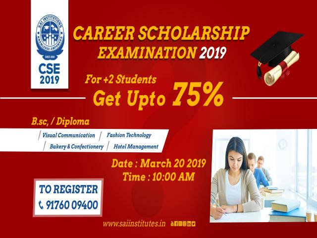 Career Scholarship Exam 2019