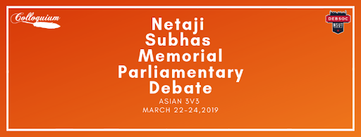 Netaji Subhas Memorial Parliamentary Debate - 2019