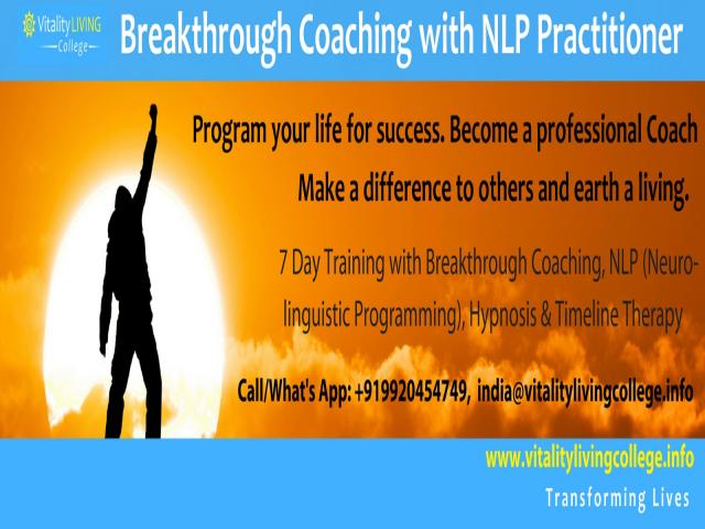 Breakthrough Coaching with NLP in Mumbai with Dr Rangana Rupavi Choudhuri