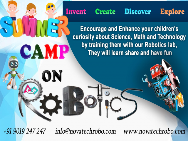 Summer Camp On Robotics