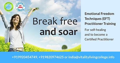 Emotional Freedom Techniques Program 2019 with Vitality Living College