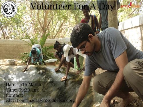 Volunteer For A Day in Chennai- Entryeticket