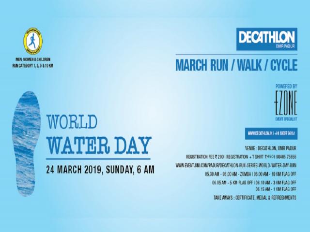 DECATHLON RUN SERIES - World Water Day Run